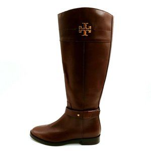 Tory Burch Leather Knee High Riding Boots NEW
